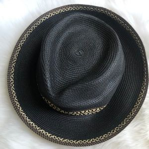 Eric Javits black sun hat